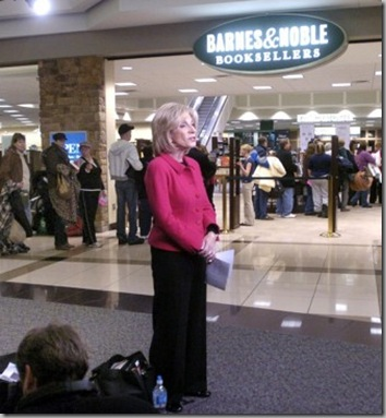 ANDREA MITCHELL IN FLYOVER