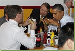 why presidents don't eat in public