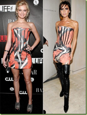 sara paxton v victoria beckham