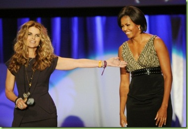 first-lady-michelle-obama-introduced-maria-shriver-women-conference-long-beach-california