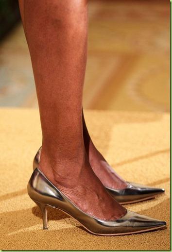 sista silver heels