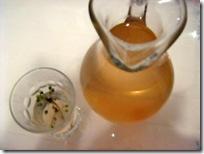 aperitivo piccante zenzero e sambuco