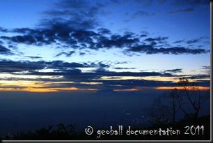 sunrise di Merbabu