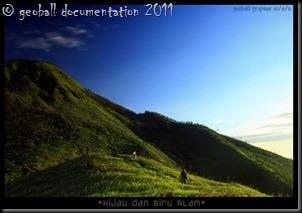 landscape merbabu