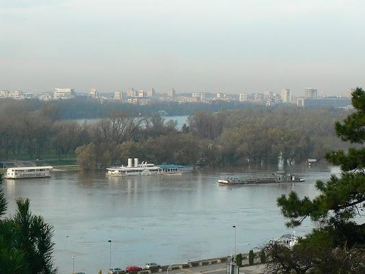 Imagini Serbia: Panorama Savei Belgrad