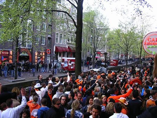 Imagini Olanda: Hotel 83 Amsterdam in fata