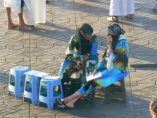 Imagini Maroc: Jema el-Fnaa Marrakech - henna.JPG