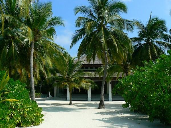 Cazare Maldive: Velassaru primii pasi pe insula.JPG
