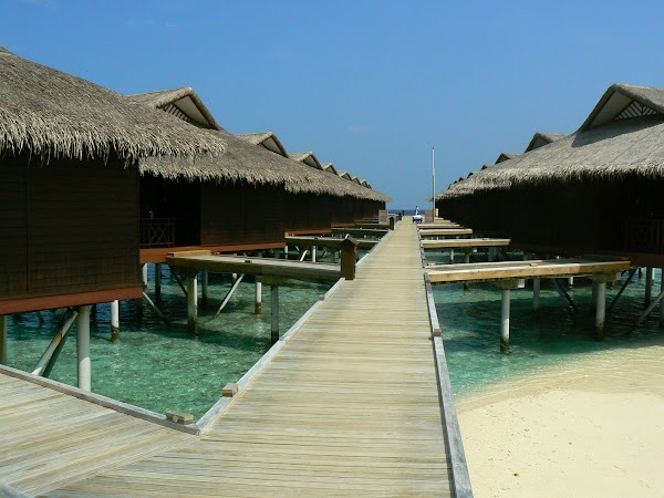Cazare Maldive: Velassaru water villas