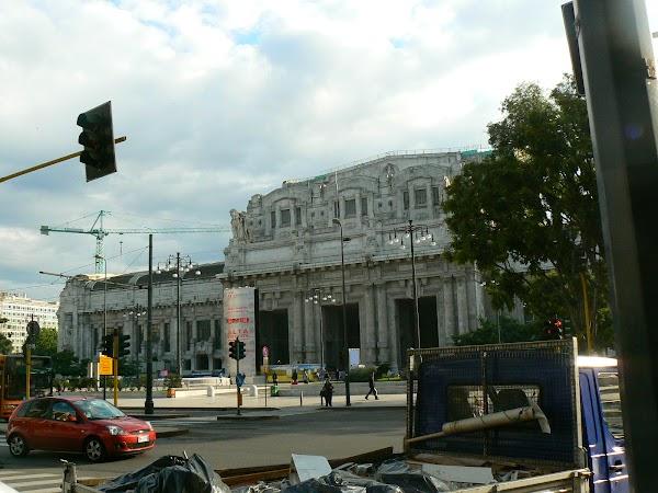 Imagini Italia: Stazione Centrale Milano