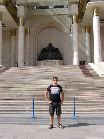 Obiective turistice Mongolia: taxi spre Ulaan Bataar