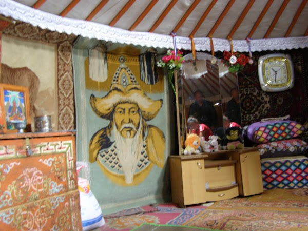 Imagini Mongolia: in iurta