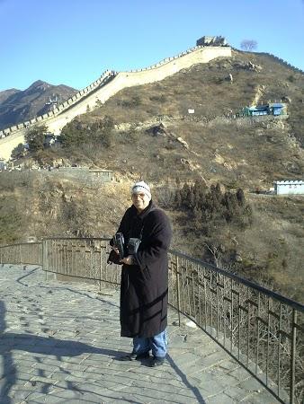 Obiective turistice China: Marele Zid iarna.JPG