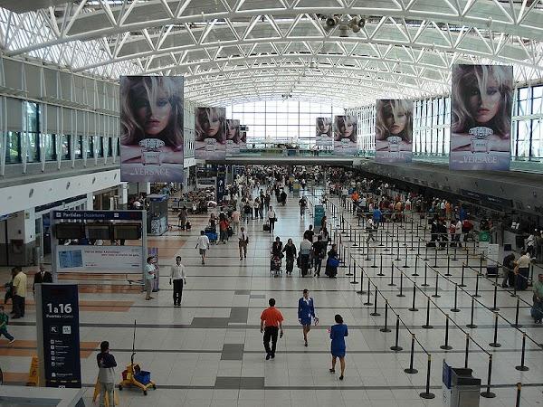 Obiective turistice Argentina: AEROPORTUL EZEIZA DIN Buenos Aires