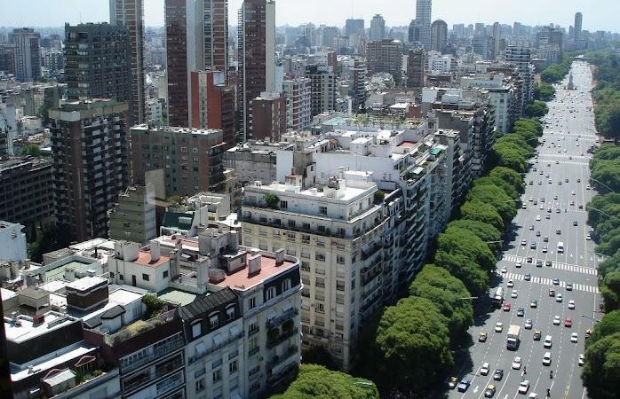 Obiective turistice Argentina: Cartierul Palermo de la etaj, Buenos Aires