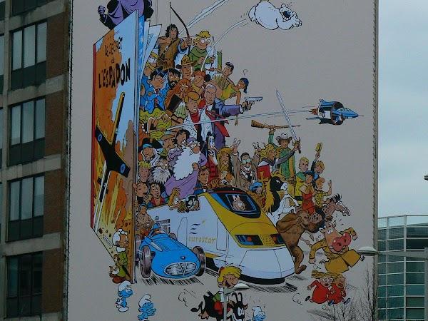 Atractii turistice Belgia: benzi desenate, Bruxelles