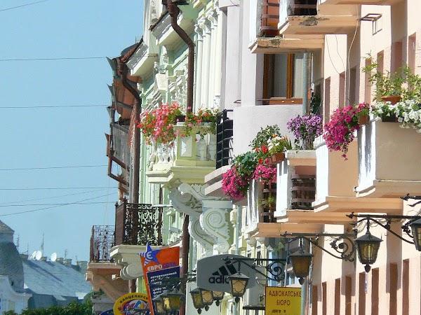 Obiective turistice Ucraina: centru Cernauti