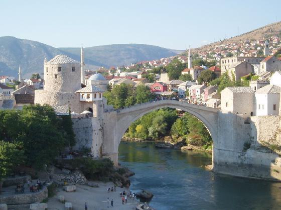 Obiective turistice Bosnia: Mostar Descoperiti Balcanii