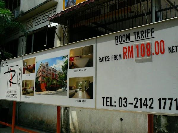 Cazare Malaezia: hotel Replica Inn Kuala Lumpur - pretul