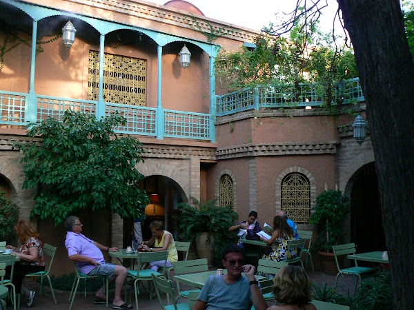 Obiective turistice Maroc: vila Yves Saint Laurent