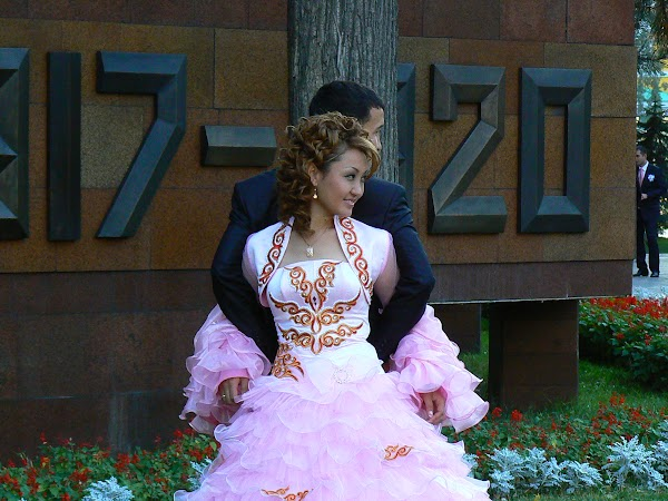 Imagini Kazahstan: nunta la Almaty Drumul spre China