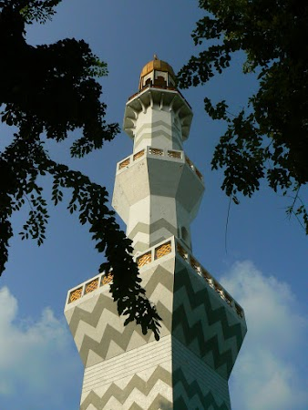 Imagini Maldive: Friday Mosque - minaret.JPG