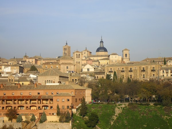 Obiective turistice Spania: panorama de podul San Martin.JPG