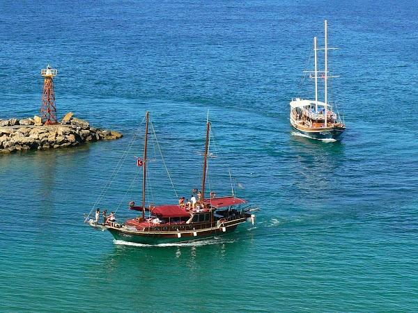 Obiective turistice Cipru de Nord: dupa sailing.JPG