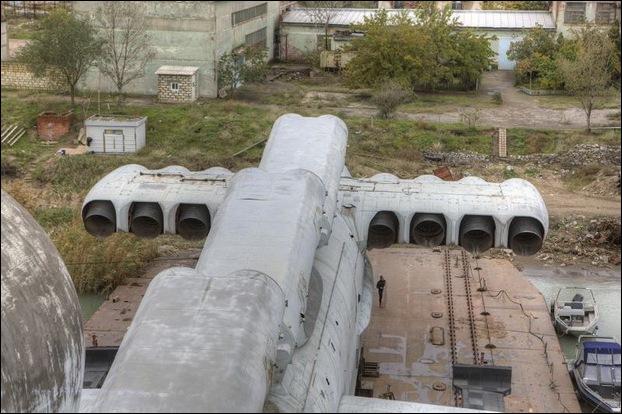 Soviet Ekranoplan 17