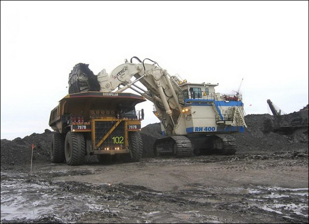 TEREX RH400 worlds largest hydraulic shovel 02