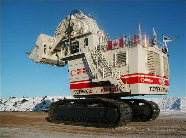 TEREX RH400 worlds largest hydraulic shovel 06