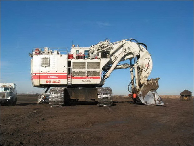 TEREX RH400 worlds largest hydraulic shovel 05