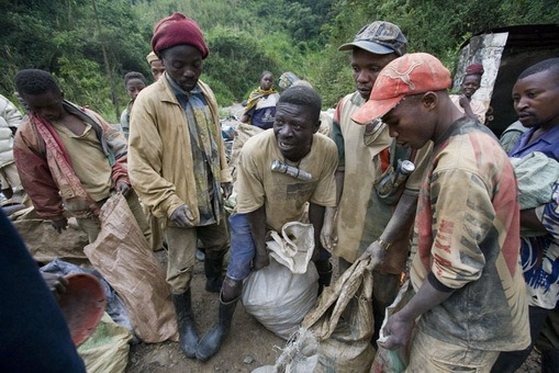 Goldmining in the Democratic Republic of Congo