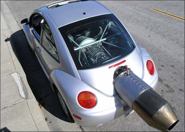 Jet Powered Beetle