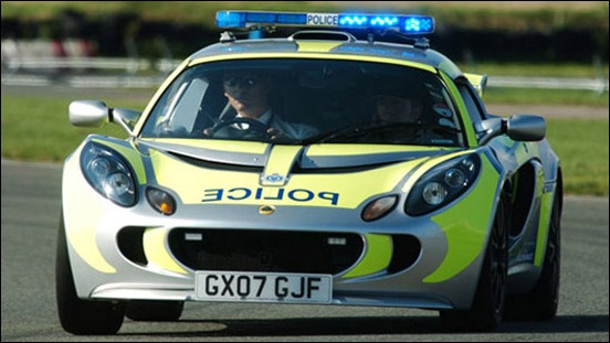 Sussex Police Lotus