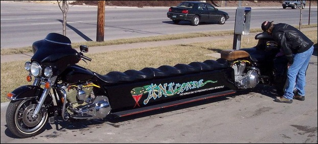 Harley Davidson Limo Motorcycle