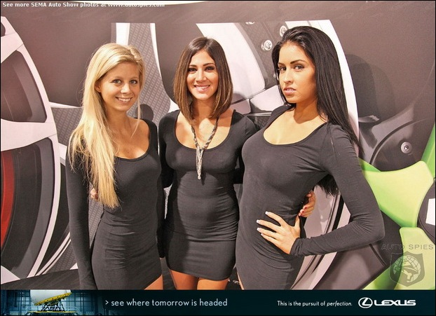 The Ladies Of SEMA09