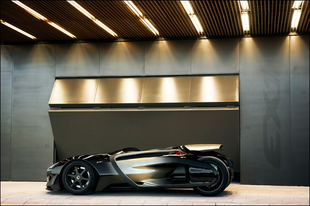 Peugeot EX1 electric concept car 2