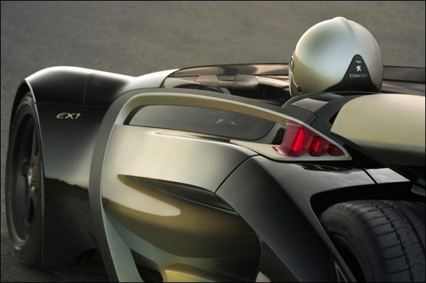 Peugeot EX1 electric concept car 7