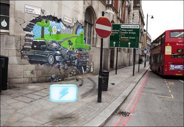 Street Art 3D cars 10