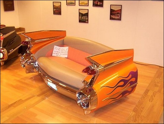 Custom furniture made from car parts megamachine Custom furniture made car parts