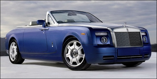 2. Rolls-Royce Phantom Drop head Coupe