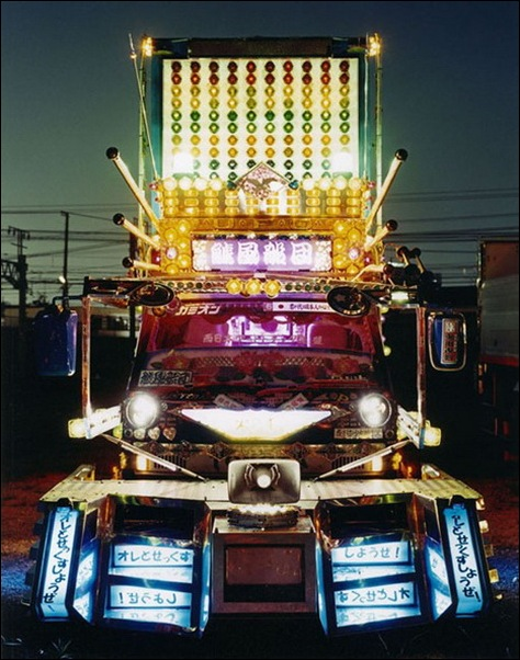 Dekotora...Japanese mad custom truck modding04