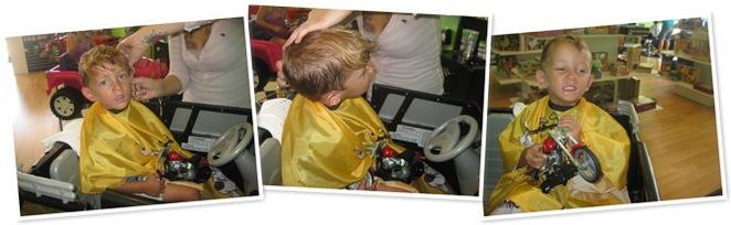 View davis hair cut