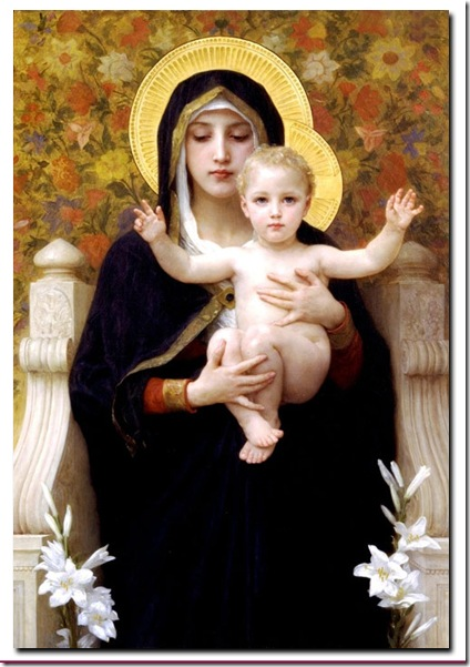 Virgen de los Lirios