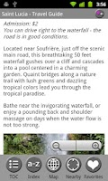 Screenshot of Saint Lucia - FREE Guide & Map