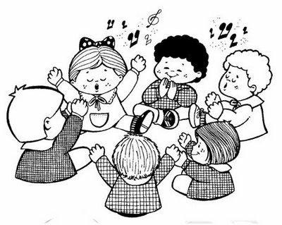 EN CLASE DE MUSICA LAMINAS PARA PINTAR