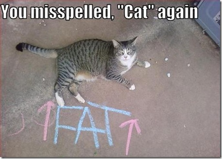 Funny Pictures: Watch your spelling!