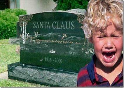 Funny Pictures: Oh Santa Clause was dead?!