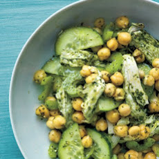 Chicken, Chickpea, and Pesto Salad